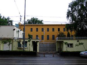 Здание посольства Израиля в Москве