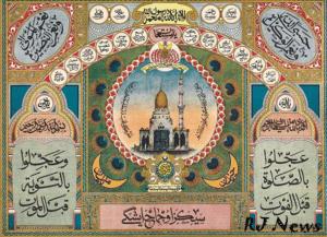 Мусульманский лунный календарь