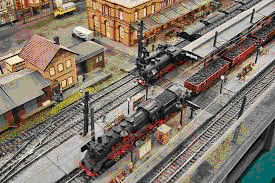 Самая большая в Европе модель железной дороги