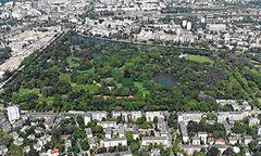 Скарышевский парк в Варшаве1
