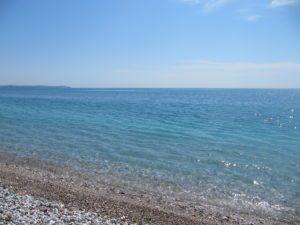 Море в Анталье. Начало весны