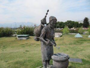 Водонос в парке Ататюрка Анталья