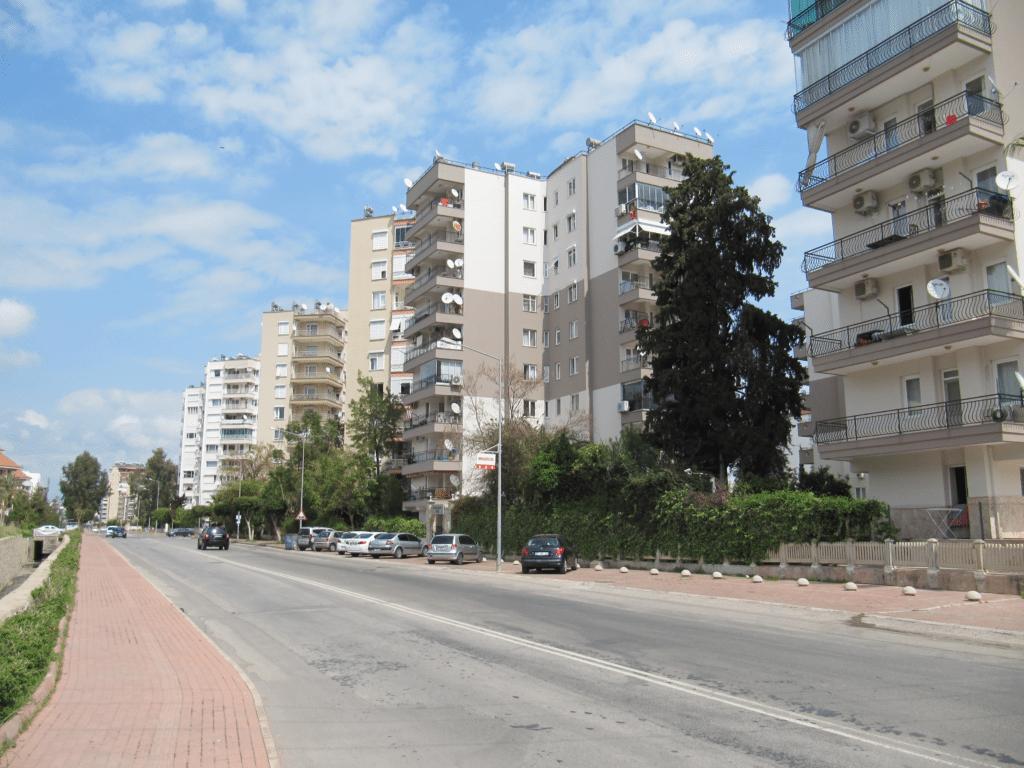 Жилые многоэтажные комплексы в Гюрсу