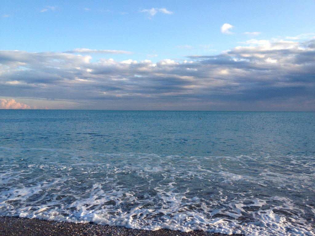 Летнее море в Гюрсу