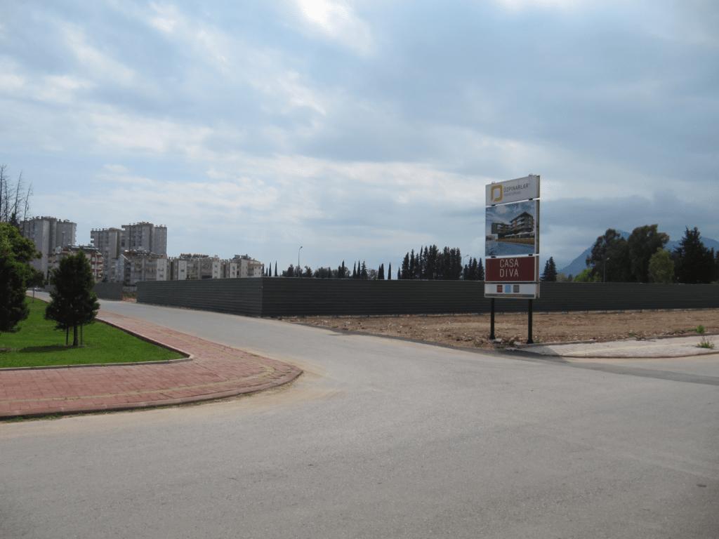Новое строительство в Гюрсу