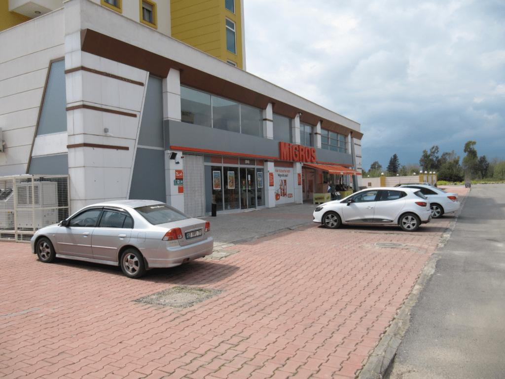 Новый магазин Мигрос на улице Эмниет в Гюрсу