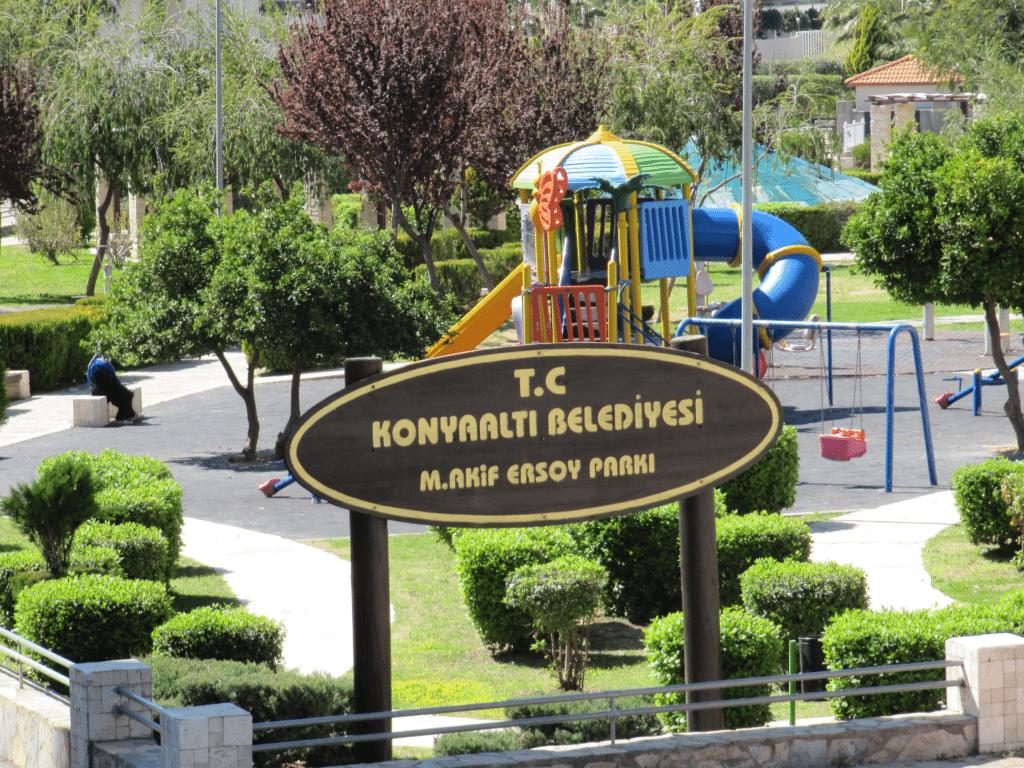 Парк М. Акиф Эрсой в Гюрсу