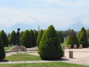 Статуя Венеры в парке