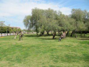 Скульптуры в парке