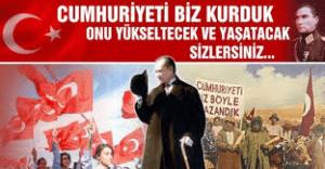 День Республики в Турции в октябре 2017 года
