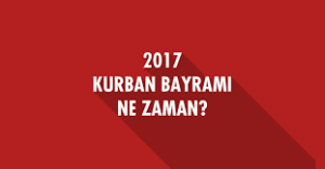 Курбан-байрам в Турции в 2017 году