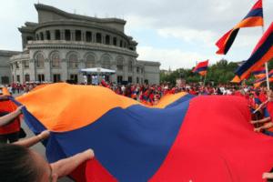 Праздник Независимости в Армении