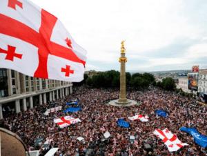 Выходные дни в Грузии в апреле 2018 года.День национального единства