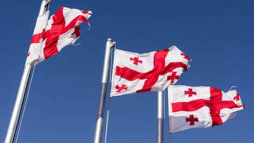Государственные светские праздники в Грузии.День государственного флага