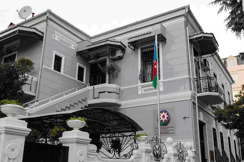 Здание Генконсульства Азербайджана в Батуми