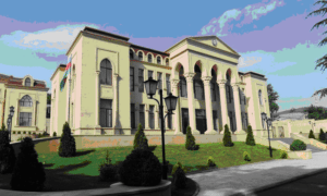 Здание Посольства Азербайджана в Грузии