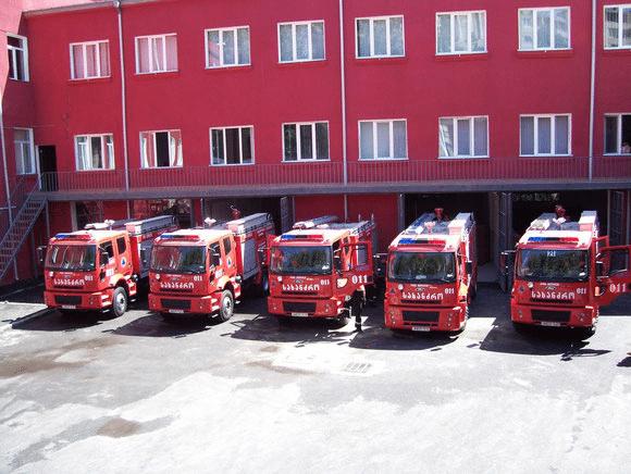 Пожарные Грузии