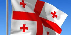 Грузинский флаг.