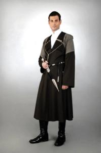 Национальный мужской грузинский костюм