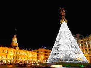 Новогодние праздники в Грузии