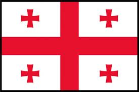 Современный грузинский флаг