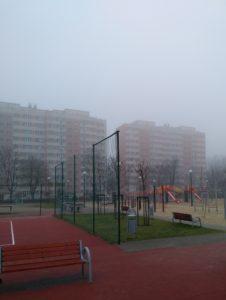 Детская площадка в Варшаве
