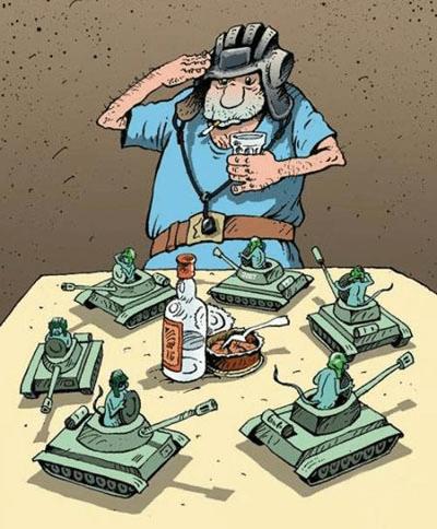 Анекдоты о еврейских военных