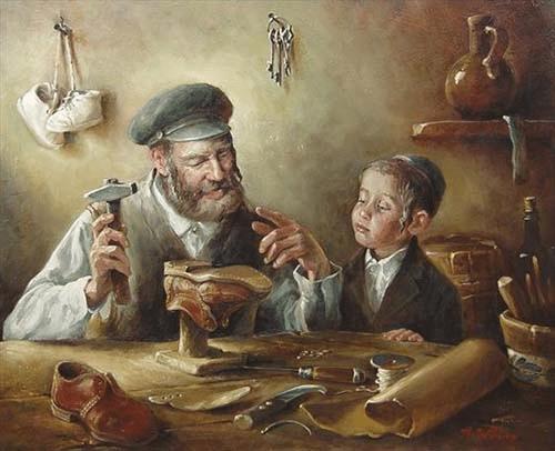 Анекдоты о еврейских отцах