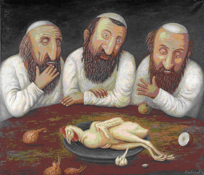 Анекдоты о евреях и еде