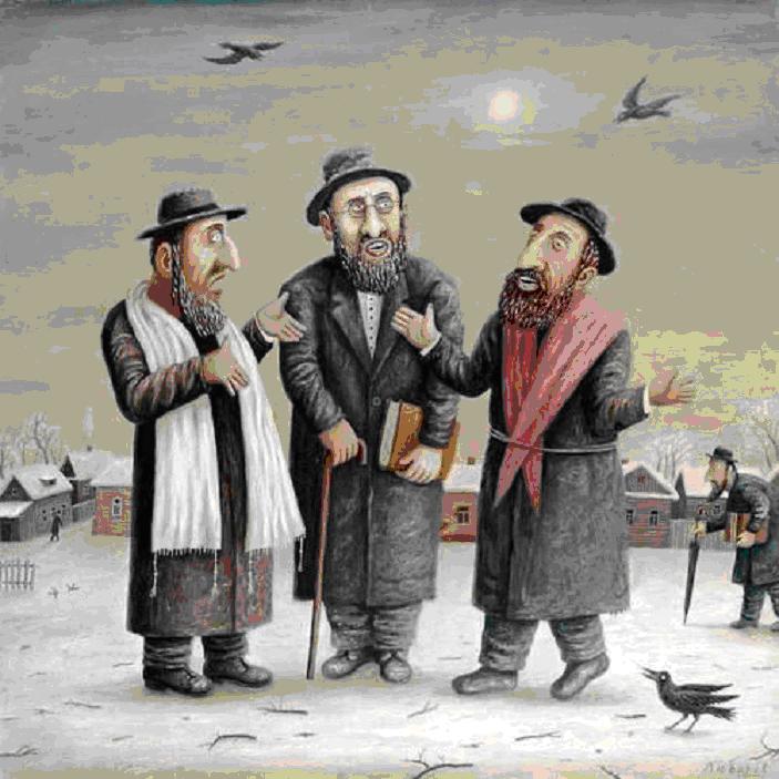Анекдоты о пожилых евреях