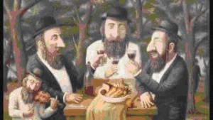Анекдоты про евреев и еду