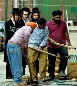 Еврейские анекдотыо евреях – рабочих