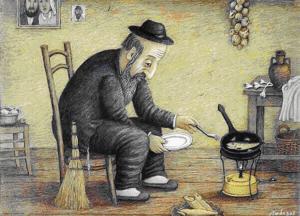 Еврейские анекдотыо пожилых евреях