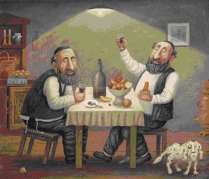 Еврейские анекдоты про еду
