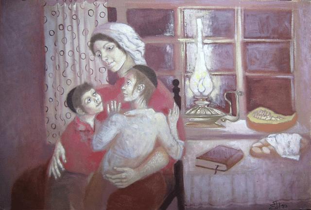 Еврейские анекдоты про маму
