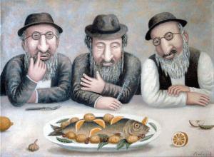 Короткие анекдоты о еврейских мужчинах