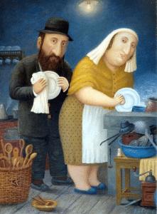 Короткие анекдоты о еврейских семьях