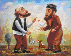 Короткие еврейские анекдоты о евреях