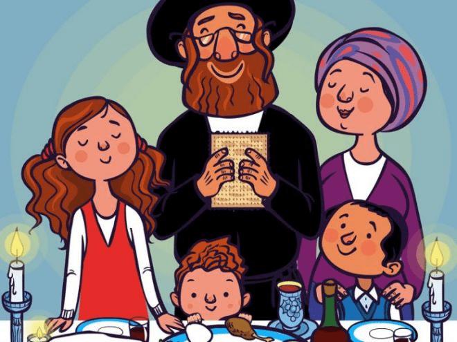 Остроумные анекдоты о еврейской семье