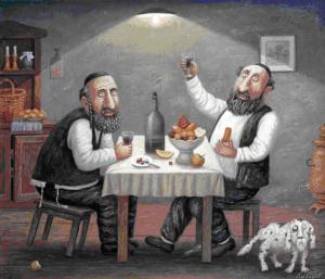 Остроумные еврейские анекдоты о мужчинах