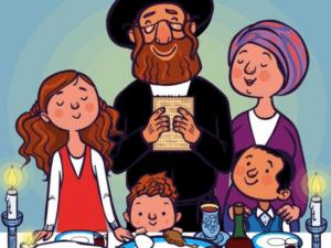 Смешные анекдоты о еврейской семье
